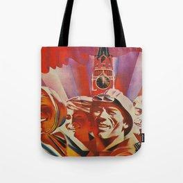 Labour communist propaganda in soviet union cccp sssr Tote Bag