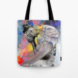 angel male nude Tote Bag