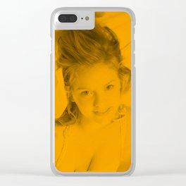 Kelli Garner Clear iPhone Case