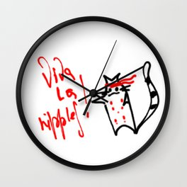 Viva la nipples! Wall Clock