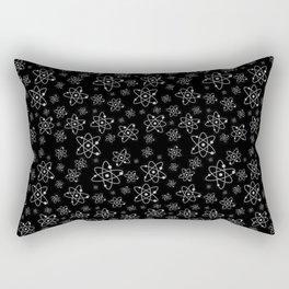A million atoms   Atom art work   Science design   Scientific   Science decor   Universe Rectangular Pillow