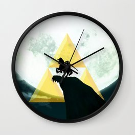 The Horse Of Triforce Wall Clock