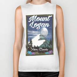 Mount Logan , Yukon, Canada Biker Tank