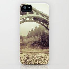 Cape Creek Bridge Oregon Coast iPhone Case
