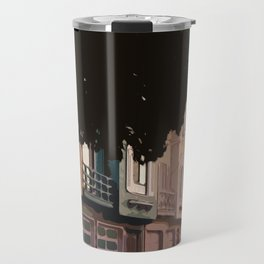 Sunset Houses, San Francisco  Travel Mug