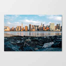 Sunrise Skyline Canvas Print