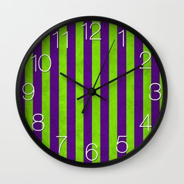 Stripes Collection: Magic Wall Clock