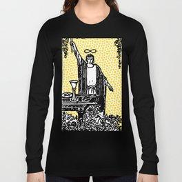Modern Tarot - 1 The Magician Long Sleeve T-shirt