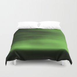 Blurred Sky-Green Duvet Cover