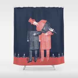 Menswear Shower Curtain