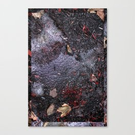 Grimey things Canvas Print