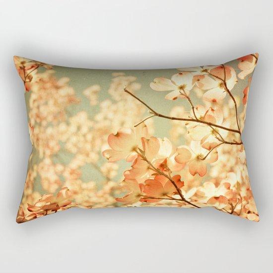Vintage Pink Rectangular Pillow