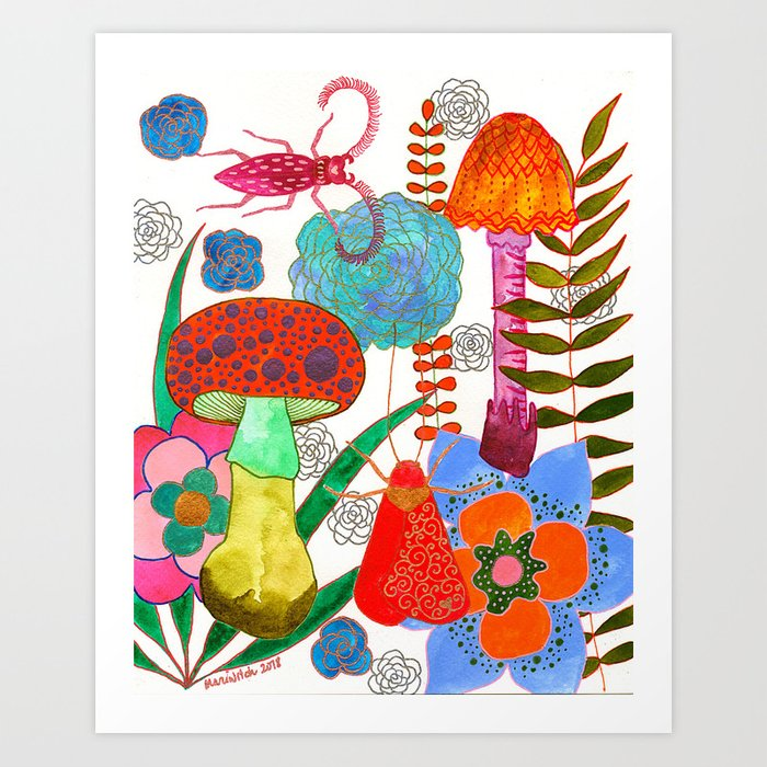 Foraging For Your Heart Art Print