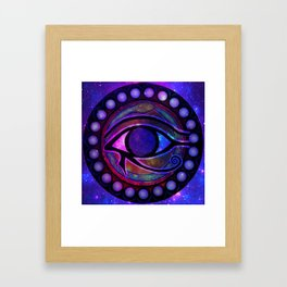 Eye of Horus  Framed Art Print
