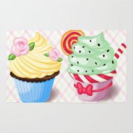 Pretty Cupcake Parade Rug