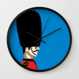 Grand mustache Beefeater Wall Clock
