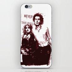 Sid and Nancy iPhone & iPod Skin