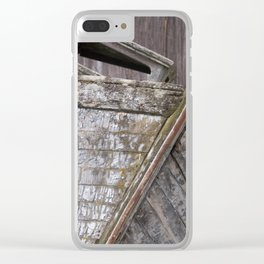 Washed-up Clear iPhone Case