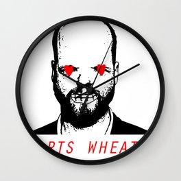 JORTS WHEATON Wall Clock