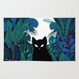 mystical cat Rug