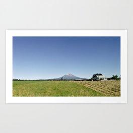 Mount Egmont Art Print