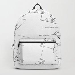 Korg VC-10 - exploded diagram Backpack