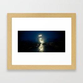 Saphan Mon bridge Framed Art Print