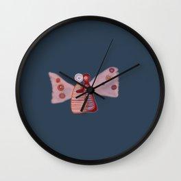 Butterfly Hugs Wall Clock