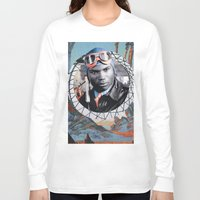 pilot Long Sleeve T-shirts featuring Pilot by Jedi Master Schmidt