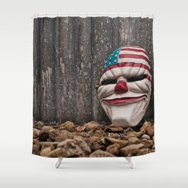 Why So Stars & Stripes? Shower Curtain