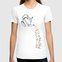 tea T-shirts featuring Tea by Emily Stalley