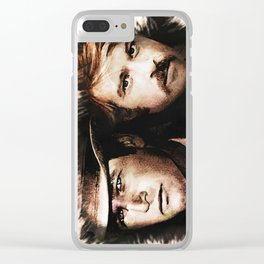 Butch and Sundance Clear iPhone Case