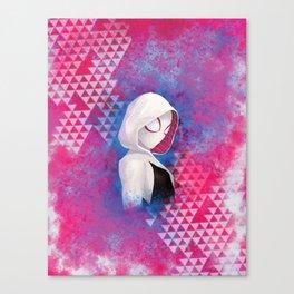 Gwen, digital painting Canvas Print