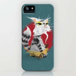 PAW MEI - The Wise Cat iPhone Case