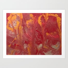 Candlelit Art Print