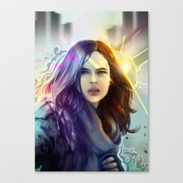 Jessica Jones Canvas Print
