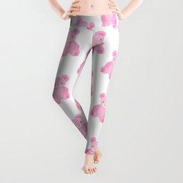 Pink Teddy Bears Leggings