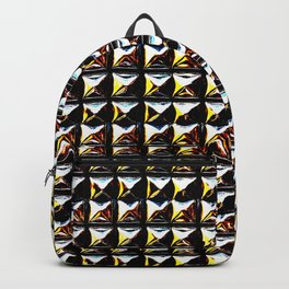 3D METAL PYRAMIDE Backpack