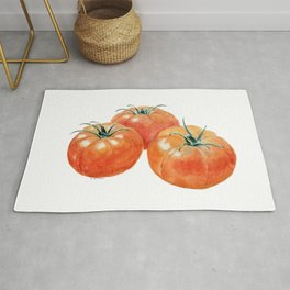 Three Tomatoes Rug