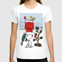 snoopy T-shirts featuring Snoopy 01 by tanduksapi