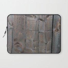 Brown Wood Panels Laptop Sleeve