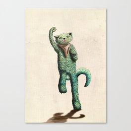 Gatito Victorino Canvas Print