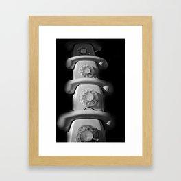 phone Framed Art Print