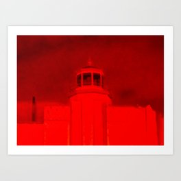 Satan's Building Art Print