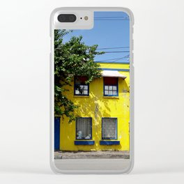 The Yellow House Clear iPhone Case