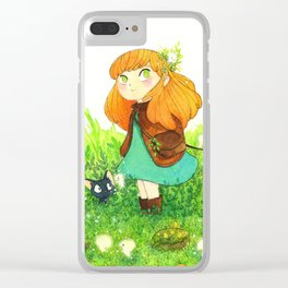 little witch Clear iPhone Case