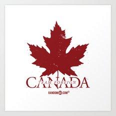 Team Foreign Canada Art Print