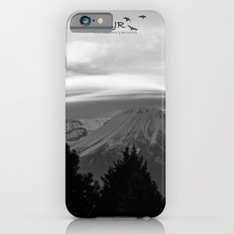 BNW Mount Shasta iPhone Case