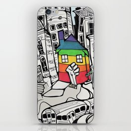 A Safe Place to Call Home iPhone Skin