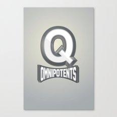 Q Omnipotents Canvas Print